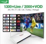 2017 Últimas Leadcool TV Box S1 Android TV Box Amlogic S905X Quad Core Android 6.0 Cortex A53 1GB+8GB WiFi 4K de 2,4 Ghz, Smart TV Box