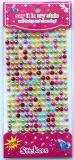 Многоцветные Pearl Gem границ/Rhinestone наклейку/Pearl границ