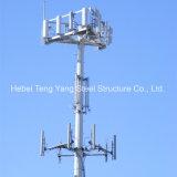 L'acier de télécommunication GSM Monopole Antennatower