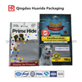 Nahrung Grade Fastfood- Zipper Frozen Pet Bag/Ziplock Aluminium Foil Nahrung für Haustiere Packaging Pouch /Resealable Plastic Bags mit Zipper
