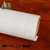 Folha de PVC de grãos de madeira impermeável decorativos de perfil de filme de PVC para mobiliário