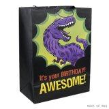 Bolsa de papel del regalo de Brithday, bolsa de papel, bolsa de papel de Kraft, bolsa de papel que hace compras