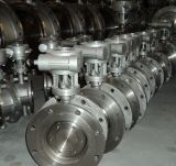 API 609 de Vleugelklep van het Handvat van de Zetel van het Roestvrij staal CF8 PTFE