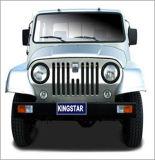 Kingstar Pluto Bz1 4X4 Light Truck, Lorry (Gasoline Single Cab Truck)