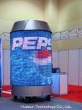 LED Soft Vision cortinas para la etapa, DJ y Eventos Antecedentes P30mm RGB 3-en-1 LED