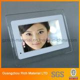Ясность/прозрачная акриловая индикация изображения/рамка фотоего перспекса акриловая