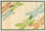 "Láser impreso Split Bamboo 12 ""X18"" Placemat"