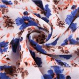 Tissu Rayon Floral Tissu Air Jet Loom pour femmes