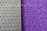 Stuoia doppia di vendita calda del pavimento della bobina del PVC di colore con la protezione del punto