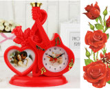 Modelling of The Guitar Romantic Photo Frame Table Clock