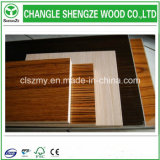 Resistente al desgaste del grano de madera de color UV Hoja de MDF recubierto