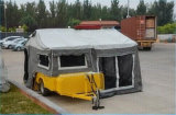 7ft*4ft Australia al aire libre Tienda Camper remolque galvanizado