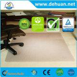 Tapete de cadeira, PVC, 40 X 48 Protector de piso de carpete, pilha baixa/média Claro, Studded, Rectangular