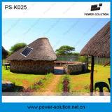 3개의 LED 빛 및 이동 전화 비용을 부과를 가진 10W 태양 전지판 시스템에 있는 12V 태양 팬
