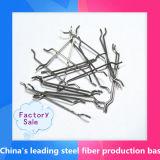 Las fibras de acero, fibras de acero Micro, extremo con gancho de fibra de acero de hormigón