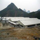 La estructura de acero prefabricada Animal cultivar la casa en venta
