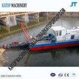 10インチの電気カッターの吸引の浚渫船