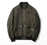 지퍼를 가진 주문을 받아서 만들어진 방진 가을 우연한 남자의 재킷