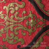Tecido decorativas 100% poliéster tingida pelúcias para Home