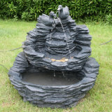 Симпатичный фонтан утки для сада