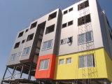 Edificio industrial prefabricado de la estructura de acero (marco de acero)