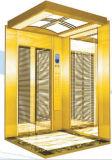 Passeggero Elevator con Golden Mirror Etching Stainless Steel