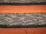 Tessuto di lavoro a maglia della nervatura della banda di colore di stirata