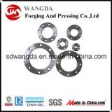 ANSI BS DIN En1092-1 JIS Bride en acier au carbone