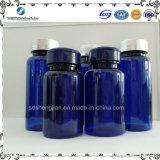 Livello superiore tutta la bottiglia di pillola di plastica dell'animale domestico di formati