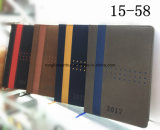 Diary, Travel Journal 및 Note를 위한 PU Leather Notebook