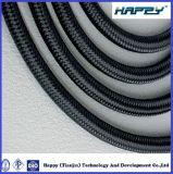 Le textile de tresse de fil de R5 SAE 100 a couvert le tuyau hydraulique