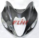 Pièces de fibre de carbone Motorycycle Carénage avant pour Suzuki Hayabusa 97-07