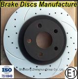 4351212550 TS16949 OEM pour Toyota du rotor de disque de frein, GEO, Chevrole