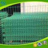 Barriera di sicurezza saldata galvanizzata della rete fissa ricoperta PVC della rete metallica