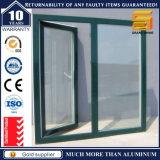Ventana de aluminio del marco del grano de madera de la alta calidad