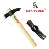 Tipo Francés Claw Hammer con mango de madera