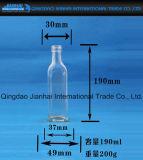 Lang-Necked Wodka-und Wein-Glasflasche