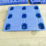 Pallet di plastica piano di singolo del fronte di industria del magazzino modo di memoria 4