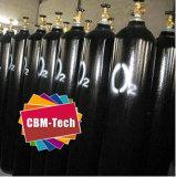 Cilindri di ossigeno d'acciaio ad alta pressione 50L per il sistema di rifornimento medico O2
