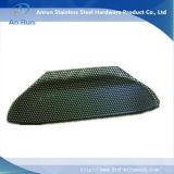 Lamina di metallo perforata per la calotta di protezione