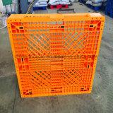 Pallet antiscorrimento di plastica del compatto dello strato dell'HDPE per il trasferimento