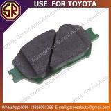 トヨタのための競争価格の自動車部品ブレーキパッド04465-33320の使用