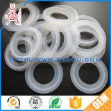 Arruela moldada personalizada do anel de borracha de silicone/arruela redonda/horizontalmente arruela