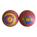 Bille de cour de jeu en caoutchouc colorée de 8.5 pouces