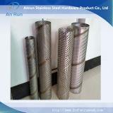 De roestvrij staal Geperforeerde Filter van het Metaal voor TextielApparatuur