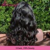 Парика шнурка объемной волны волос девственницы бразильянина 100% волосы полного естественные
