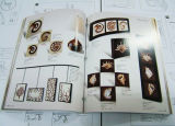 Proveedor profesional de la impresión de catálogos de servicios de impresión de folleto