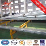 10m 5kn Stahl galvanisierter elektrischer Pole für Ghana-Verteilungs-Zeile