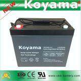 85ah 12V de Diepe Batterij van het Gel van de Cyclus Hybride voor de Kar van het Golf