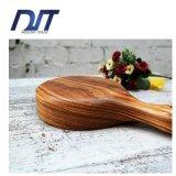 Bandeja de madeira grande do macarronete dos utensílios de mesa feitos sob encomenda do logotipo com punho longo